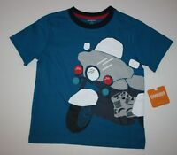 New Gymboree Everyday Playwear Motorcycle Short Sleeve Tee Top Shirt Size 3T NWT