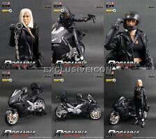 Hot! 2009 ZCWO Toys ZC Girls ZC36 1/6 Bike Girl Rosanna with Motorcycle 1st Ed.
