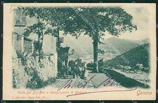 Genova Città Camposanto di Valle Bisagno cartolina XB0894