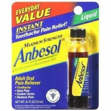 ANBESOL MAXIMUM STRENGTH INSTANT! LIQUID BENZOCAINE 20% .41OZ
