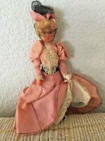 """Celluloid Dancing Can-Can Girl Lady Vintage 1950's Arms Legs Move 6.5"""""""