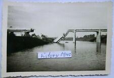 Foto mit Gesprengte Brücke an der Warthe in Polen.(15)
