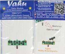 Yahu Models YMA7277 1/72 PE Mitsubishi A5M4 Claude Panneau Instrument
