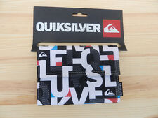 Quiksilver Mens Tri Fold Wallet Brand New With Tags (white A )