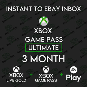 Xbox Live 3 Month GOLD & Xbox Game Pass Ultimate (6 x 14 Days) INSTANT 24/7