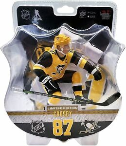"""Sidney Crosby Pittsburgh Penguins 2020-21 Imports Dragon 6"""" Player Figure NHL"""