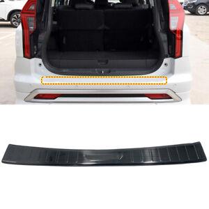 For Mitsubishi Pajero Sport 2020 Black Outer Rear Bumper Protector Cover Trim