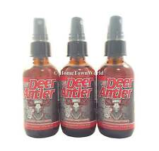 3 BOT DEER ANTLER VELVET HORN EXTRACT IGF-1 MAX Liquid Spray 2 oz Dietary