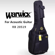 "NEW WARWICK For 41"" Acoustic Guitar Gig bag Soft case 15mm Taylor Martin Eastman"