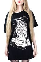 Trick Or Treat T Shirt Gothic Occult Witch Alternative Clothing