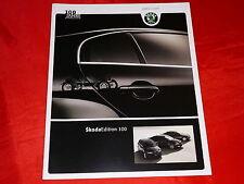 """SKODA Fabia Octavia Superb """"Edition 100"""" Sondermodelle Prospekt von 2005"""