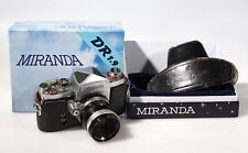 MIRANDA DR 1.9 VINTAGE 35MM SLR W/ORIGINAL BOX, 50MM F 1.9 LENS AND CASE