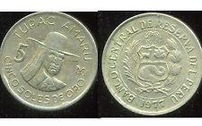 PEROU  5 soles  de oro 1977