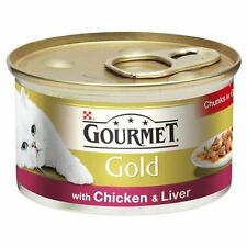 Gourmet Gold Chunks in Gravy with Chicken & Liver 12 x 85g
