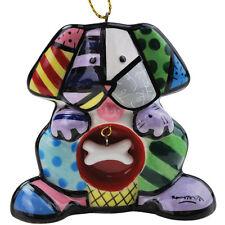 Romero Britto Dog  Hanging Ornament Decoration  NEW  17028