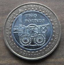 Locomotive à vapeur £ 2 Deux Pound Coin - 200TH Anniversay COMMEMORATIVE-RARE