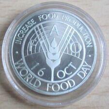 Afganistán 500 afganis 1981 FAO welternährungstag plata