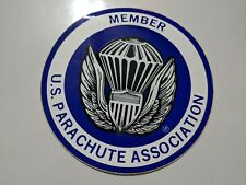 Color sticker for Members of the U.S. Parachute Association (Uspa)