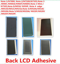 20x Original Back LCD Adhesive Sticker Glue Tape for Samsung Note 1 2 3 4 5 8