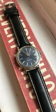 vintage omega Seamaster Blue Dial Automatic Watch