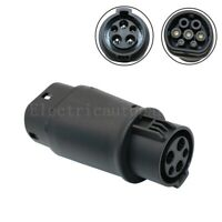 Electric Car Charger Adapter SAE J1772 32A 240V Connector Socket Charging Plug