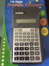 10 Digit Scientific Calculator-Bazic Brand-Free Postage-Auto Power Off-Battery