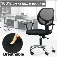 Modern Ergonomic Mesh Mid-Back Executive Computer Desk Task Office Chair New