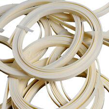 4pcs Ivory White Guitar ABS Bindings Purflings Strips 1650 x 6 x 1.5mm