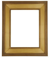 9 x 12  Picture Frame HandApplied Gold Leaf Finish Gallery Frame Super Nice