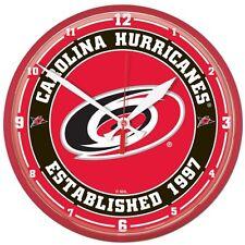 Carolina Hurricanes NHL Wall Clock