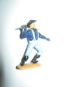 Timpo 7th cavalry 1 st series soldier with sword very good condition  no 5