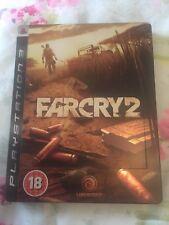Seltene Far Cry 2 Steel Book Edition für Sony ps3