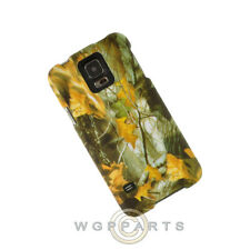 Samsung Galaxy S5 Shield Camo Dry Leaves WFL026 Cover Shield Shell