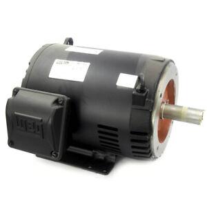 WEG 00718OT3H213TC-S 7-1/2 HP 3-Phase General Purpose Motor