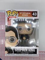 Funko Pop! Icons: Stephen King Vinyl Figure #43 I03
