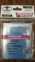 100 Ultimate Guard Premium Small/Japanese Size Soft Card Sleeves