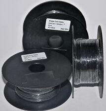 Single Core Auto Cable 14/0.30mm Black 50M Roll