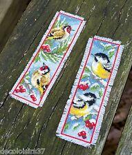 Vervaco 0151005 Segnalibro Uccelli in inverno contato