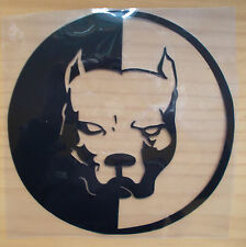 Sticker Pitbull Aufkleber Car-Styling JDM OEM 19 cm !