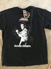 cage fighter T-shirt Sz Xl New Roger Huerta Ufc Mma Tapout Chuck Fedor Shirt