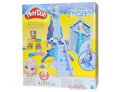 Frozen Play Doh Eiskönigin Elsa mit Eispalast Burg Schloss Anna Knete Kind B5530
