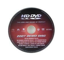 HD DVD 2007 Demo Disc - RARE Collectable Australian HDDVD Demonstration - Used