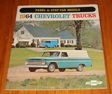 Original 1964 Chevrolet Truck Panel & Step-Van Models Sales Brochure Chevy
