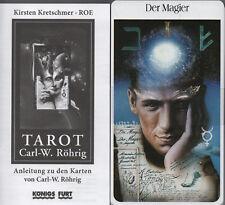 CARL W. RÖHRIG TAROT - 78 XXL Karten - Koenigsfurt-Urania