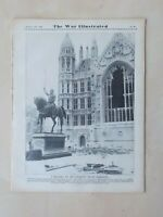 WAR ILLUSTRATED No 59 OCTOBER 18th 1940 LONDON TUBE USED FOR AIR RAID SHELTERS