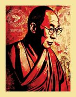 SHEPARD FAIREY OBEY The Dalai Lama 11 x 14
