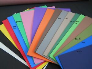 """Box of 50pcs 3mm THICK CRAFT FOAM SHEETS 12""""X18"""" - choose your colors"""