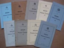 CARDIFF 9 x City Probation Committee Reports 1933-1942