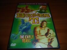 WWE Booker T The Early Years (DVD, Full Frame 2003) Used WWF