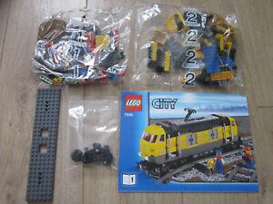 LEGO CITY TRAIN 7939 MOTRICE NEUF COMPLET SANS LE MOTEUR ET SANS LES STICKERS!!